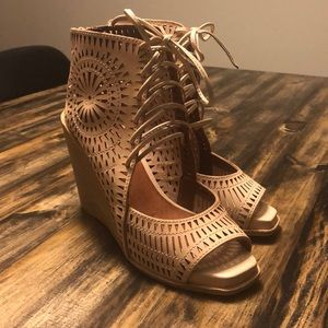 Jeffrey Campbell wedges-never worn